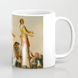 """Francisco Goya """"Stilts"""" Coffee Mug"""