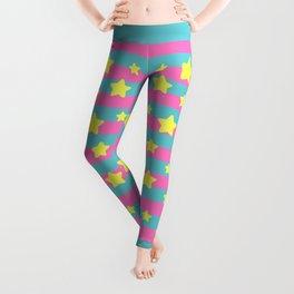 pastel stars Leggings