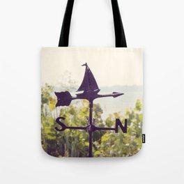 Nautical Weather Vane Tote Bag