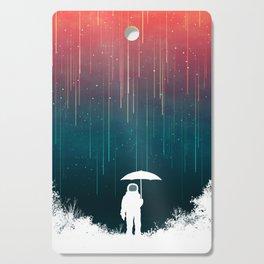 Meteoric rainfall Cutting Board