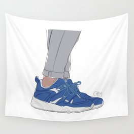 Sneakers Colette x Ronnie Fieg Blaze Of Glory Wall Tapestry