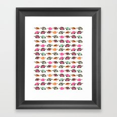 Oh Flock Framed Art Print