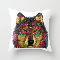 MoonWolf  Throw Pillow