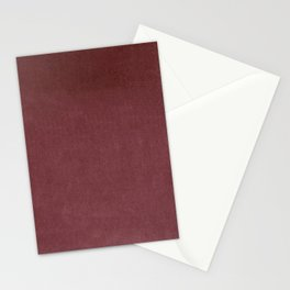 Fuschia Pink Velvet Texture Stationery Cards