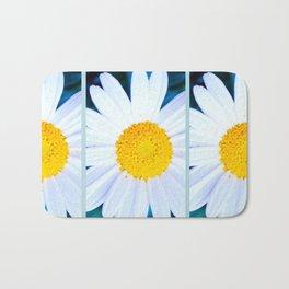 SMILE - Daisy Flower #2 Bath Mat