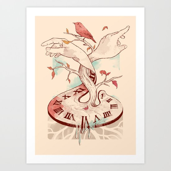 Hands of Time Art Print