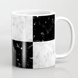 Elegant black white marble Coffee Mug