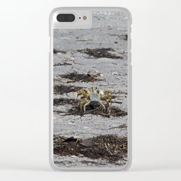 Competing Crabs Clear iPhone Case