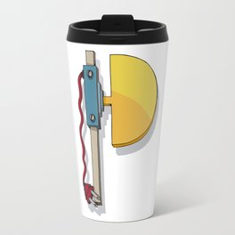MACHINE LETTERS - P Travel Mug