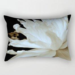 Hopeful Water Lilly II Rectangular Pillow