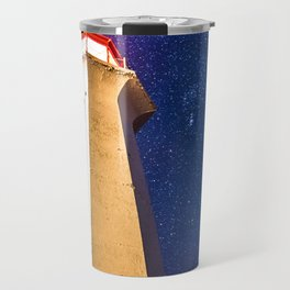 Starry Night at Peggy's Cove Travel Mug