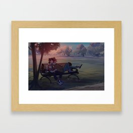 klance at dawn Framed Art Print