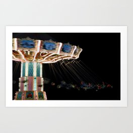 Night Blur Art Print