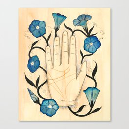 Empty/Bloom Canvas Print