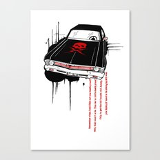 Death Proof Canvas Print