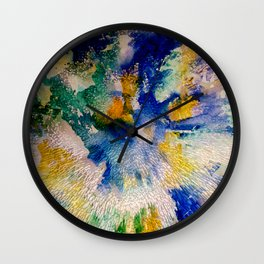 Extruded - photo comp Wall Clock