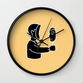 Just look at yourself Wall Clock