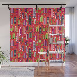 City of Colors Wall Mural