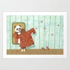 Bamboo (Bambouseraie) Art Print