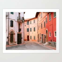 Colorful streets of Italy | Fine art travel photography print Europe Art Print