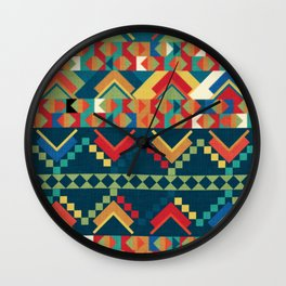 Indi-abstract#12 Wall Clock