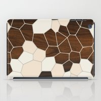 geode iPad Cases featuring Geode in Cream by jefdesigns