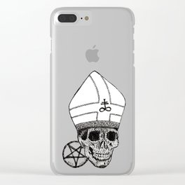 GHOST Clear iPhone Case