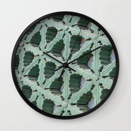 Palace Woodwork, Seoul, South Korea Wall Clock