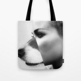 dog spirit Tote Bag