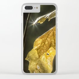 Touched by Light Clear iPhone Case