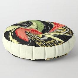 Butterfly Warp Floor Pillow