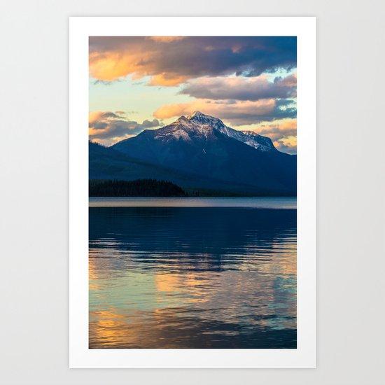 Mountains Rise To Open Skies Art Print