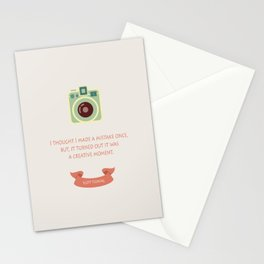Creative moment Stationery Cards