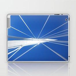 White Suspension Laptop & iPad Skin