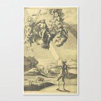 satan Canvas Prints featuring Satan by Chateau Partay