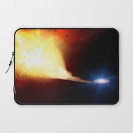 Explosive supernova Laptop Sleeve