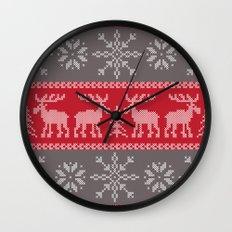 Sweater Weather Wall Clock