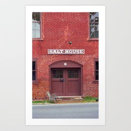 Jonesborough, Tennessee - Salt House 2008 Art Print