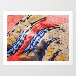 Tu vuò fà l'americano Art Print
