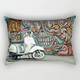 Vespa Chariot Rectangular Pillow