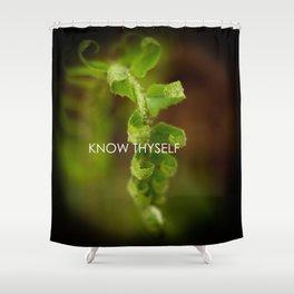 Know Thyself Shower Curtain