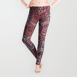 Khamseh Fars Southwest Persian Rug Print Leggings
