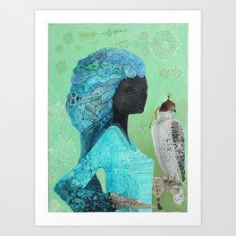 Gyrfalcon Art Print