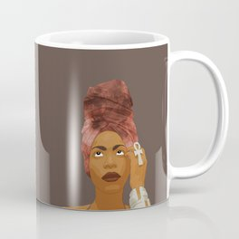 Erykah Badu, Brown Coffee Mug