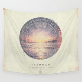 Fernweh Vol 5 Wall Tapestry