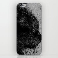 boss iPhone & iPod Skins featuring Boss by Leffan