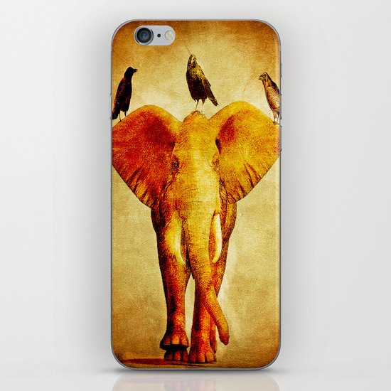 Perch of ravens iPhone & iPod Skin