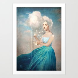 Melody of Rain Art Print
