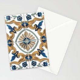 Libyan tiles Stationery Cards
