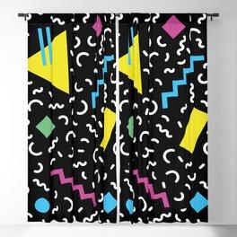 Memphis pattern 66 - 80s / 90s Retro Blackout Curtain